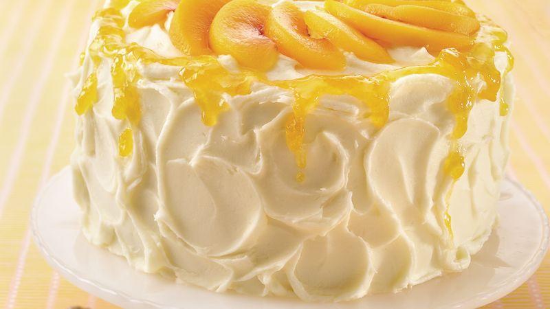 Peaches And Cream Angel Cake Recipe Lifemadedelicious Ca