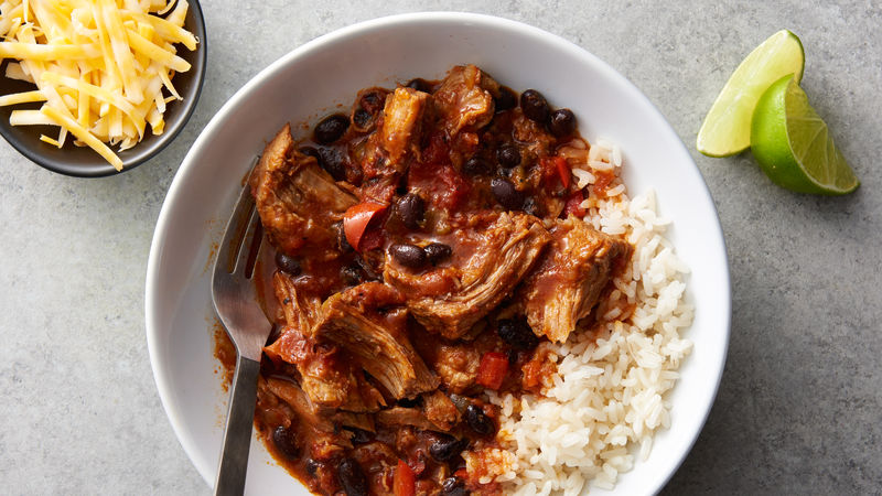 Slow-Cooker Southwest Shredded Pork