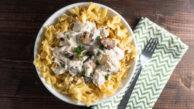 Slow-Cooker Chicken Stroganoff
