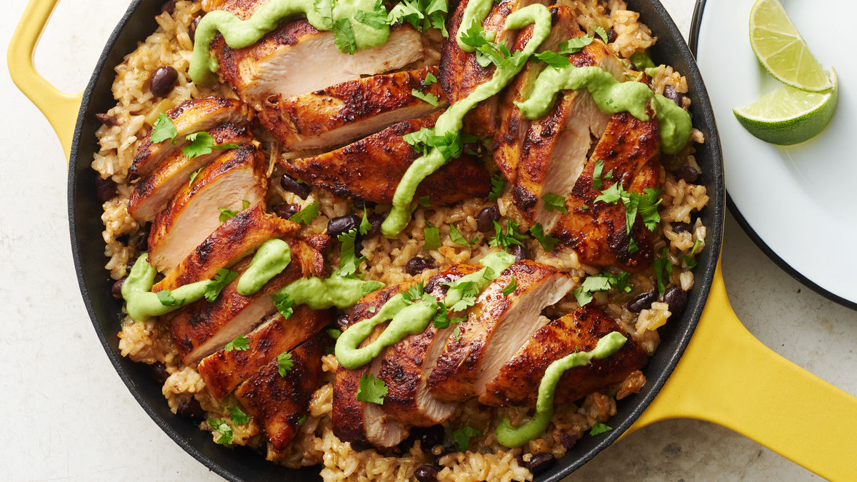 Cilantro-Lime Chicken Skillet