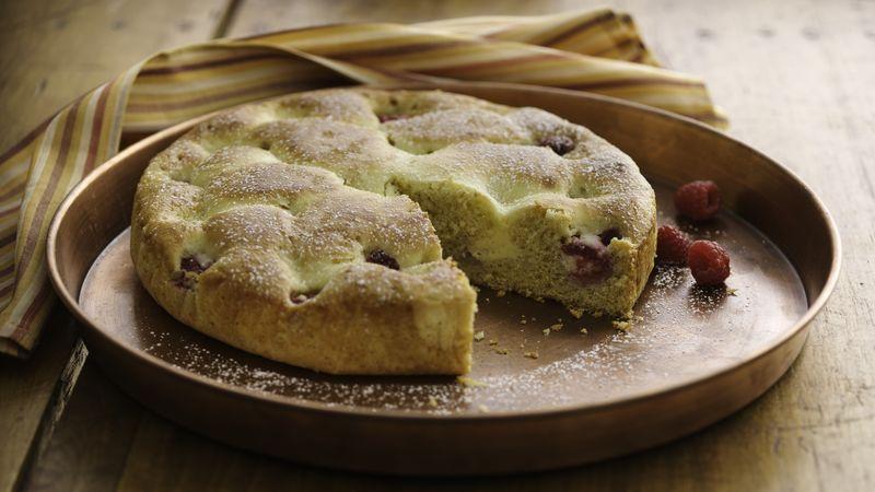 Skinny Berry-Cheesecake Coffee Cake