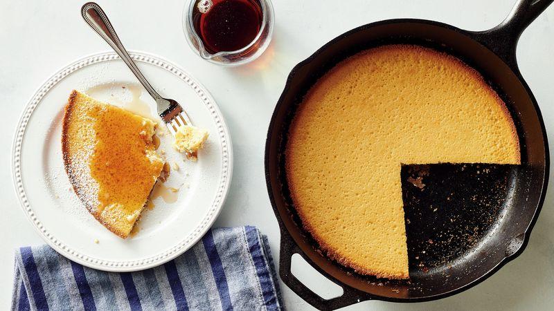 Sugar Cookie Skillet Pancake