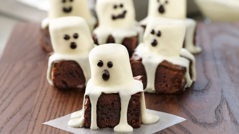 Image result for ghost brownies