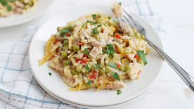 Easy Slow-Cooker Turkey Tetrazzini