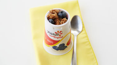 Blueberry Cobbler Yogurt Cup