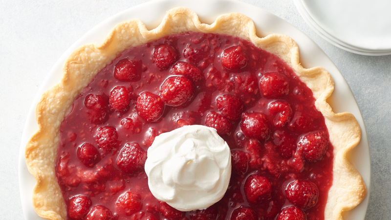 Fresh Raspberry Pie Recipe Pillsbury Com