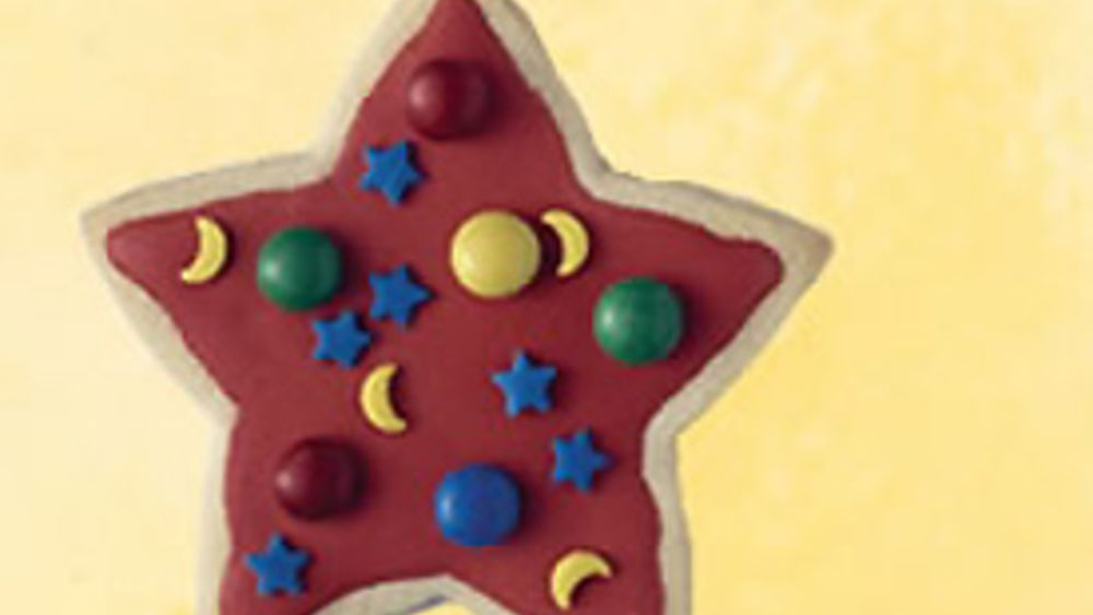 Rising Star Cookies