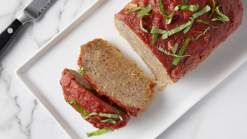Cheesy Italian Sausage Meatloaf