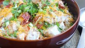 Chipotle Loaded Baked Potato Salad