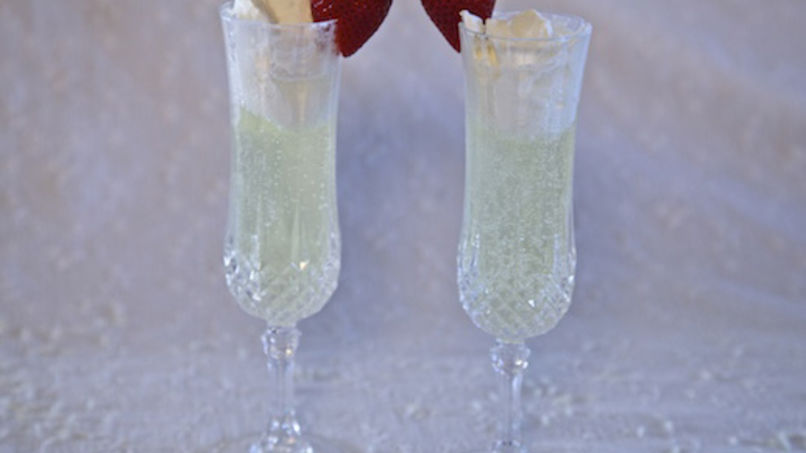 Creamy Champagne Punch