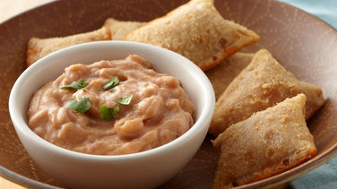 Salsa Bean Dip and Pizza Rolls®
