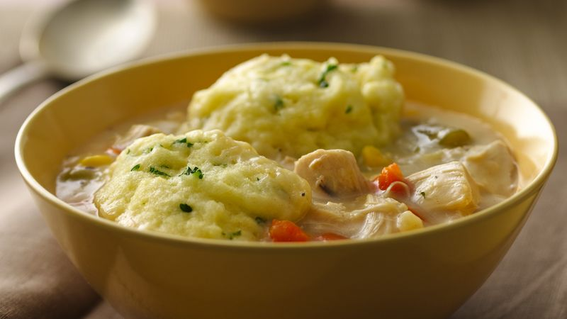 Gluten free chicken and dumplings recipe bettycrocker gluten free chicken and dumplings forumfinder