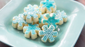 Holiday Snowflake Candies