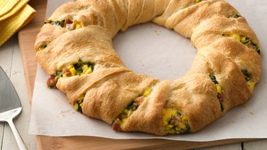 Ham and Eggs Crescent Ring