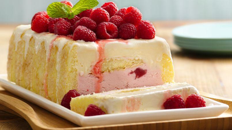 Ladyfinger-Ice Cream Dessert