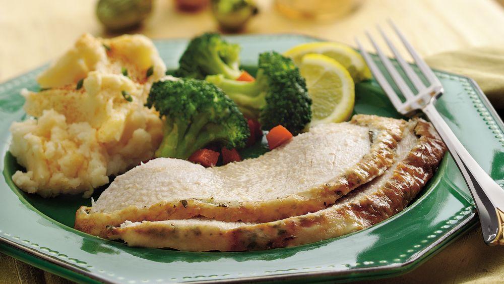 Garlic and Lemon Roasted Turkey Breast