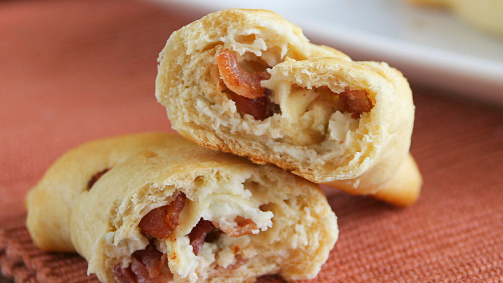 Bacon and Blue Cheese Crescents