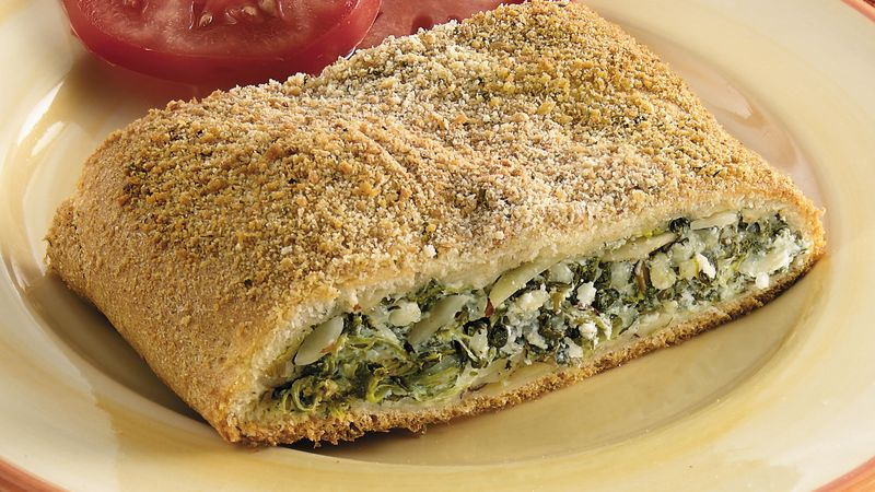 Swiss Spinach Strudel