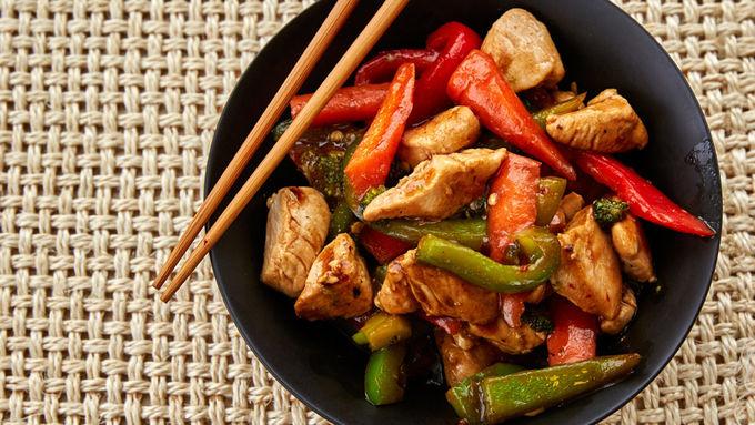 Vegetable Chicken Stir Fry