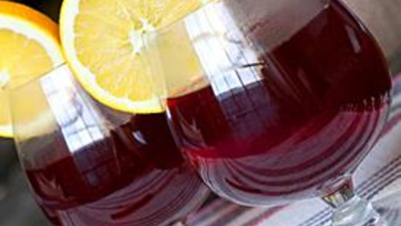 Hot Cranberry Wassail