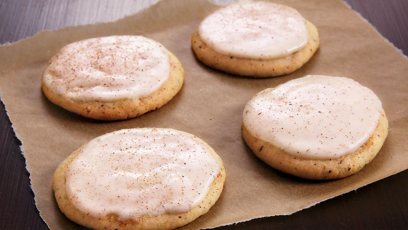 chai tea eggnog cookies - Betty Crocker Christmas Cookie Recipes