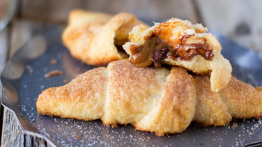Chocolate Dulce de Leche Crescents