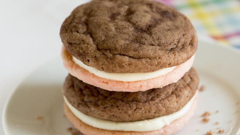 Neapolitan Cake Batter Cookies