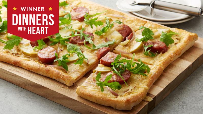 Oktoberfest Pizza Recipe Pillsbury Com
