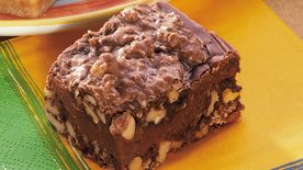 Walnut Fudge Bars