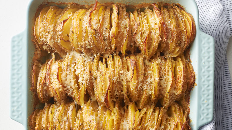 Rosemary-Garlic Hasselback Potatoes