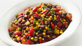 Skinny Mexican Bean Salad