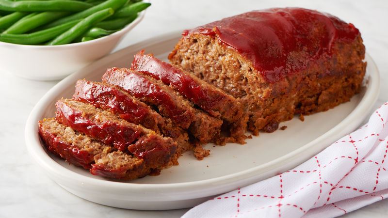 Home-Style MeatloafBetty Crocker Kitchens