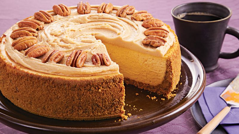 Image result for butter pecan cheesecake