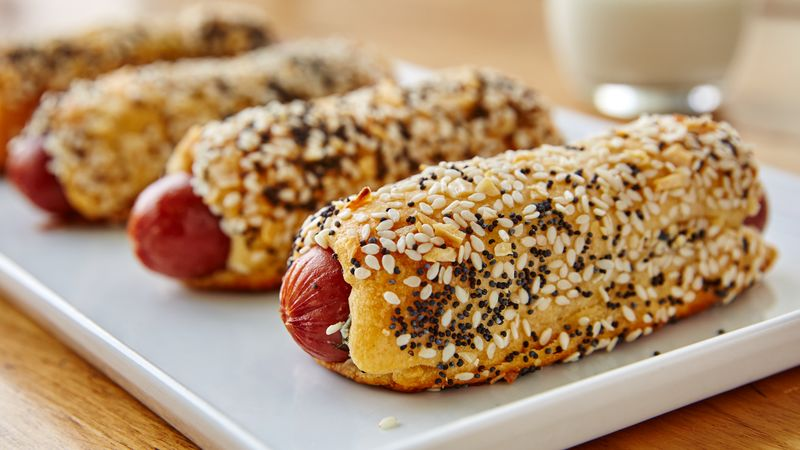 Everything Bagel Crescent Dogs