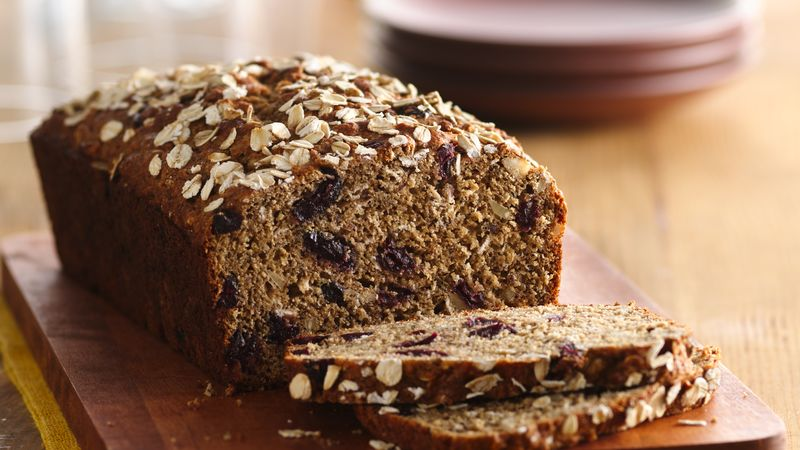 Blueberry Almond Brown Bread