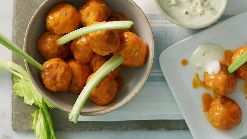 Slow Cooker Buffalo Chicken Meatballs Recipe Bettycrocker