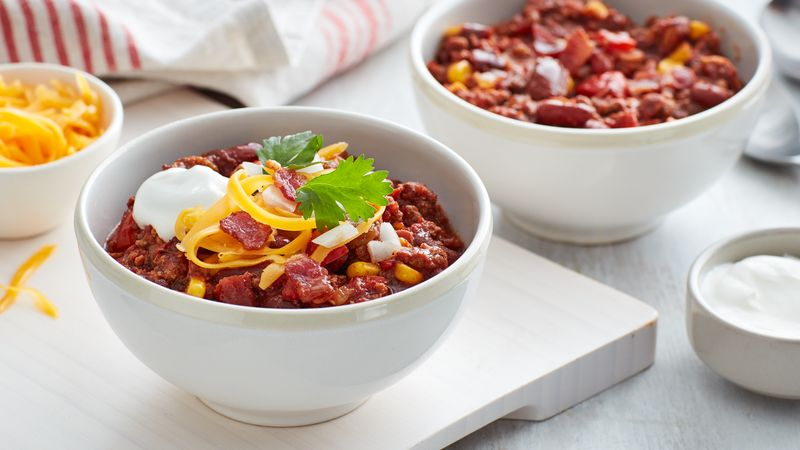 Slow-Cooker Bacon Chili