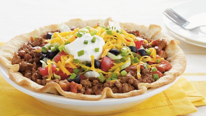 Taco Salad Pie Recipe - Pillsbury.com
