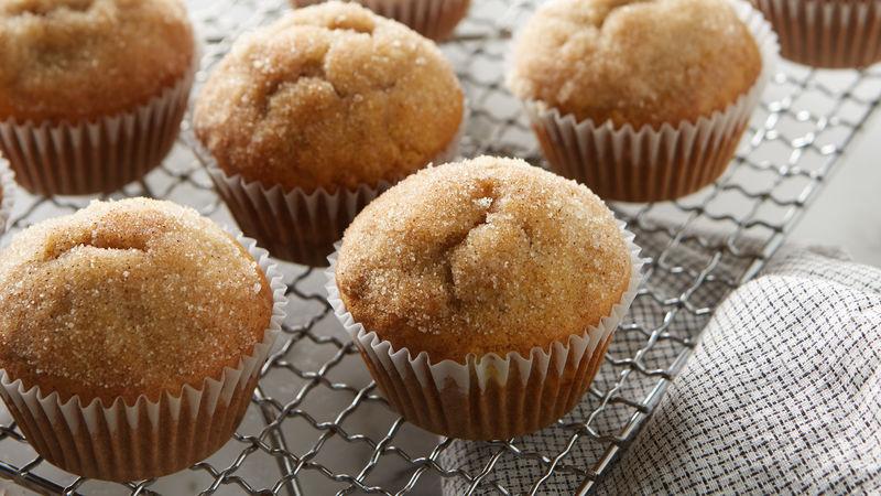 Banana Cinnamon Muffins Recipe Bettycrocker Com