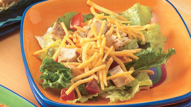 Seven-Layer Taco Salad