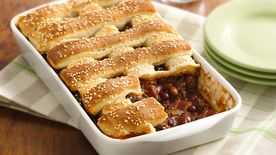 Two-Bean Burger Casserole