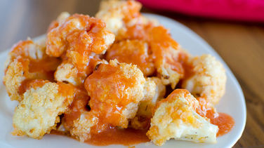 Buffalo Ranch Cauliflower Bites