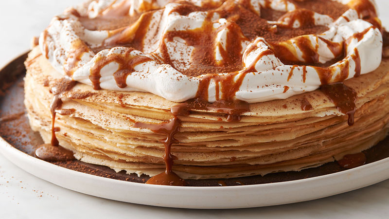 Dulce De Leche Crepe Cake Recipe Tablespoon Com