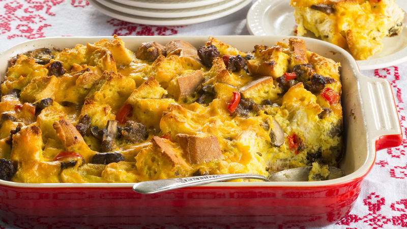 Christmas Morning Breakfast Casserole Recipe - BettyCrocker.com