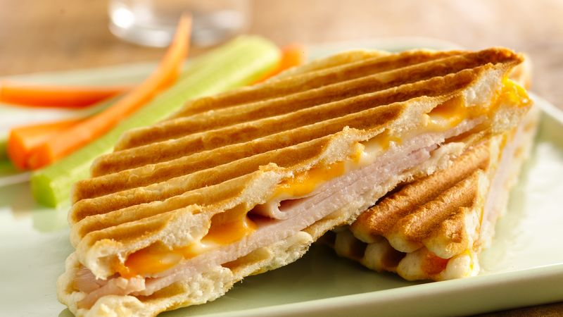 Grands!® Smoked Turkey and Cheese Paninis