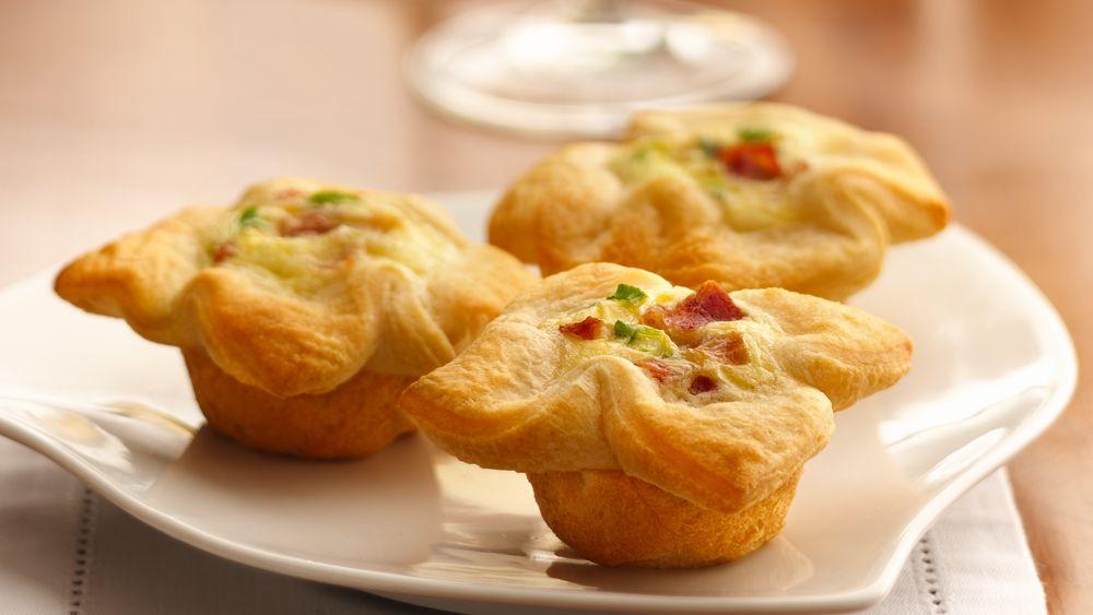 Onion-Cheese Custard Tartlets