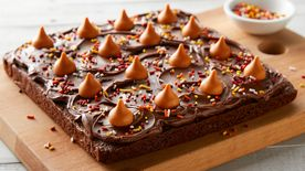 Pumpkin Spice Hershey's™ Kisses™ Brownies
