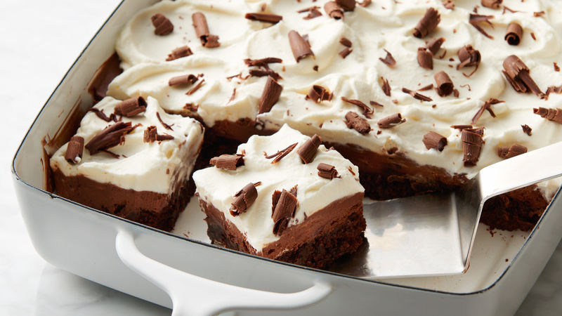 French Silk Brownie Bars