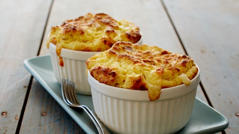 Tuna Soufflé with Cheese