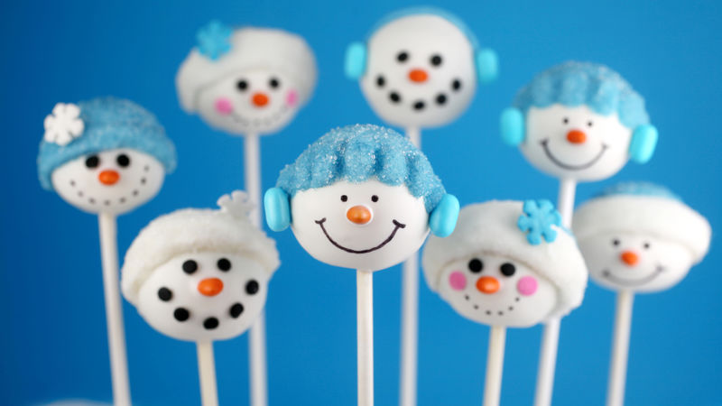 Christmas Cake Pops Recipe Easy